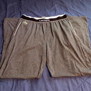 Lacoste Pajama pants
